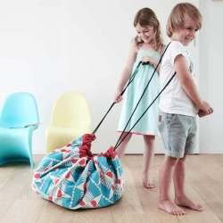 Sac à jouets Play and Go Badminton prêt à être transporté