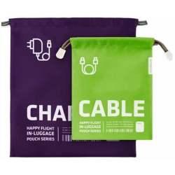 Poches de rangement voyages pour chargeur et câbles ALIFE