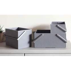 boites de rangement sur meuble