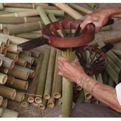 travail du bambou