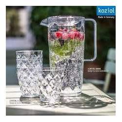 Koziol carafe et verre