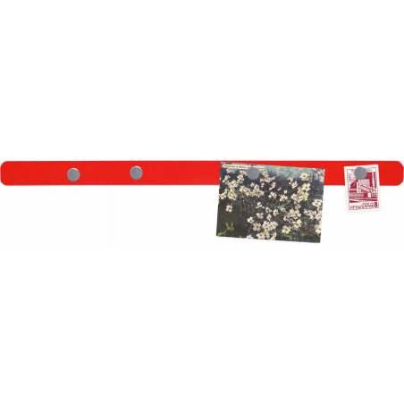 Bande adhésive magnétique rouge 2