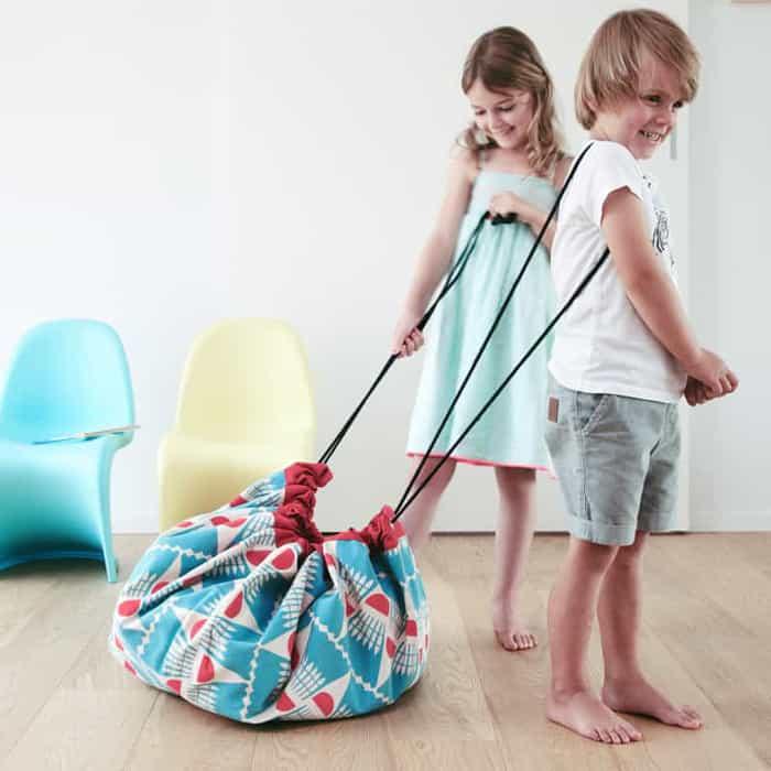 sac à jouets badminton